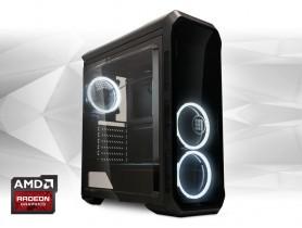 "Furbify PC 6 Tower ""Black Hole"" + Radeon RX470 8GB"