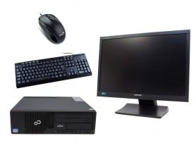 "Fujitsu Esprimo E710 SFF + 22"" SyncMaster S22A450 + Klávesnica a Myš repasované pc - 1604455"