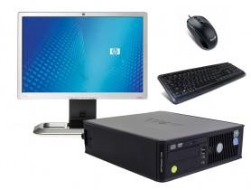 """Dell OptiPlex 745 SFF (Bronze) + 20,1"""" HP L2045W Monitor (Bronze) + Klavesnica a Myš repasované pc - 2070185"""