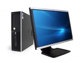 """HP Compaq 8300 Elite SFF + 22"""" HP Compaq LA2205wg Monitor (Quality Silver) PC sestava - 2070317"""