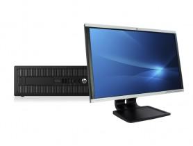 """HP ProDesk 600 G2 SFF + 24"""" HP LA2405x Monitor (Quality Silver) PC sestava - 2070318"""