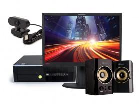 "HP Compaq 8300 Elite SFF + 22"" ThinkVision L2240P Monitor (Quality Bronze) + Webcam + Speaker PC sestava - 2070331"